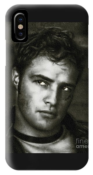 Marlon Brando - Painting IPhone Case
