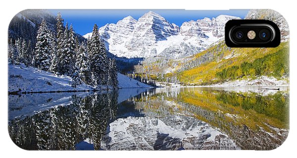 Change iPhone Case - Maroon Lake And Bells 1 by Ron Dahlquist - Printscapes