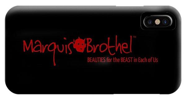 Marquis' Brothel Logo IPhone Case