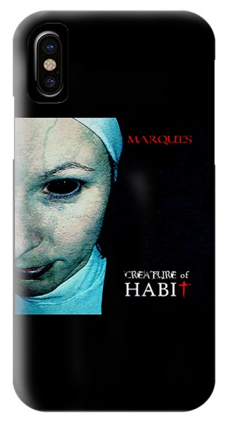 Marquis - Creature Of Habit IPhone Case