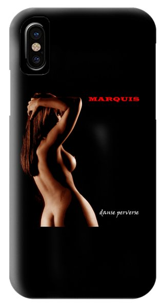 Marquis - Danse Perverse IPhone Case