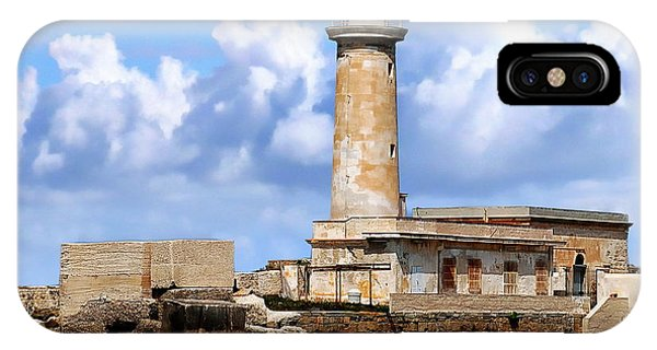 Marsala Lighthouse IPhone Case