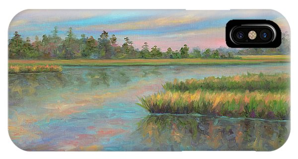 Tidal Marsh iPhone Case - Marsh Glow In The Low Country by Jeff Pittman