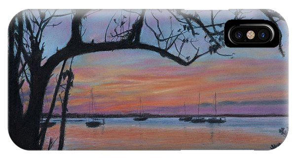 Marsh Harbour At Sunset IPhone Case