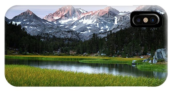Marsh Lake In Little Lakes Valley IPhone Case