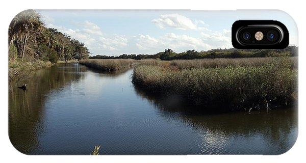 Marsh Reflection IPhone Case