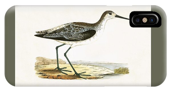 Sandpiper iPhone Case - Marsh Sandpiper by English School