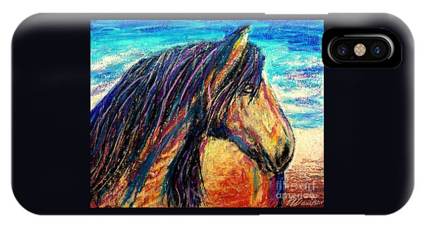 Marsh Tacky Wild Horse IPhone Case