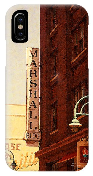 Marshall Bldg IPhone Case