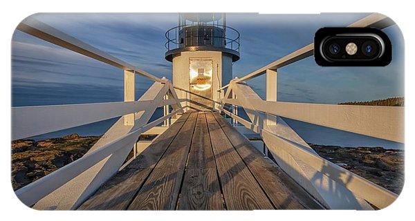 Marshall Point Lighthouse At Sunrise IPhone Case