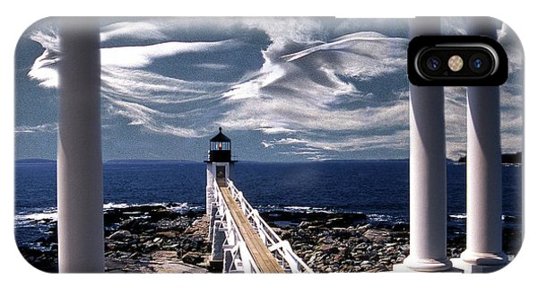 Marshall Point Lighthouse Maine IPhone Case