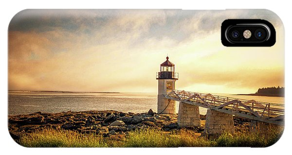 Marshall Point Lighthouse IPhone Case