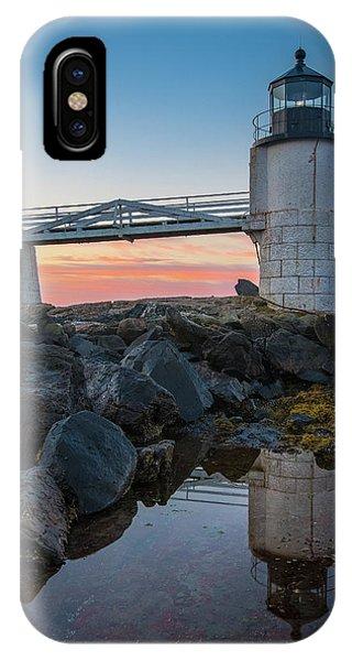 Marshall Point Reflection At Sunrise IPhone Case