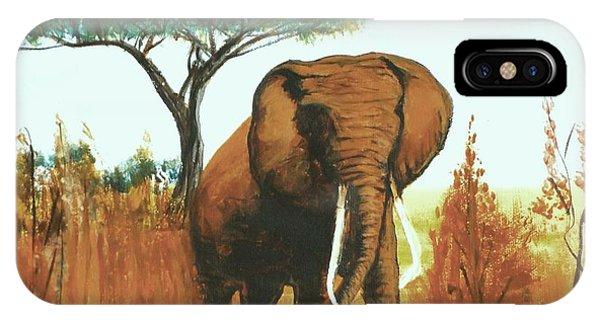 Marsha's Elephant IPhone Case