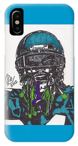 Marshawn Lynch 1 IPhone Case