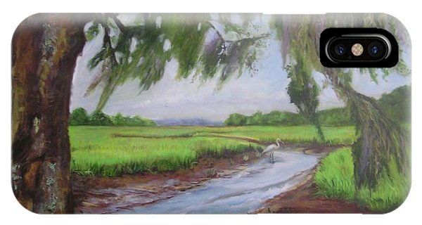 marshes of Charleston  IPhone Case