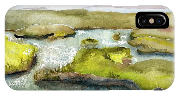 Marshes With Grash IPhone Case