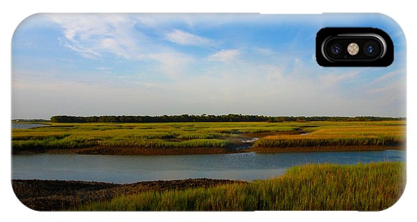 Marshland Charleston South Carolina IPhone Case