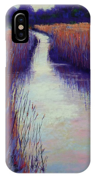 Marshy Reeds IPhone Case