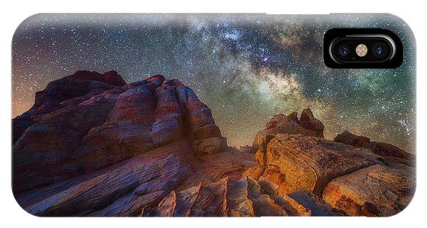 Martian Landscape IPhone Case