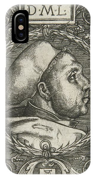 Lutheran iPhone Case - Martin Luther, 1521 by Albrecht Altdorfer