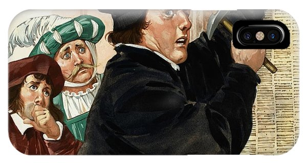 Lutheran iPhone Case - Martin Luther by Angus McBride