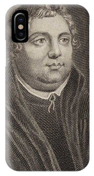 Lutheran iPhone Case - Martin Luther by English School