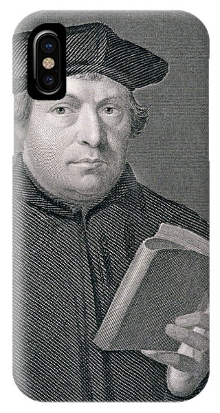 Lutheran iPhone Case - Martin Luther by Hans Holbein