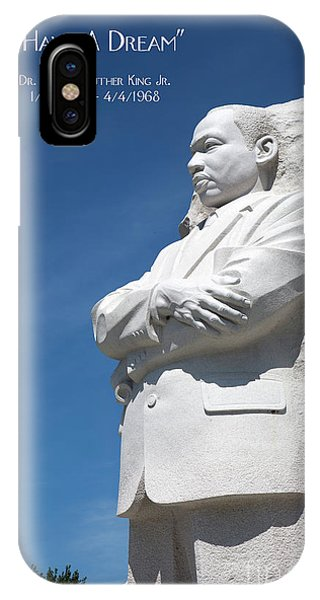 Martin Luther King Jr. Monument IPhone Case
