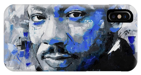 Protest iPhone Case - Martin Luther King Jr by Richard Day