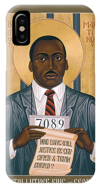 Martin Luther King Of Georgia  - Rlmlk IPhone Case
