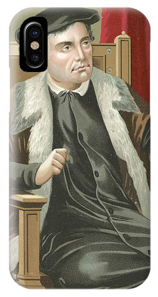 Lutheran iPhone Case - Martin Luther by Spanish School