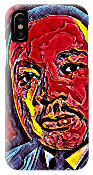 Martin Luther King Jr. Portrait IPhone Case