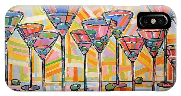 Martini Hour IPhone Case