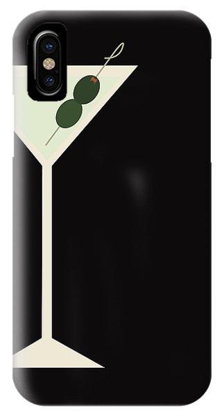 Martini iPhone Case - Martini by Julia Garcia