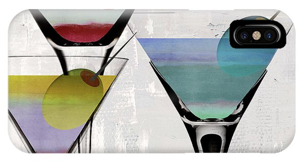 Decor iPhone Case - Martini Prism by Mindy Sommers