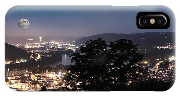 Martins Ferry Night IPhone Case