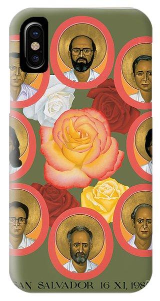Martyrs Of The Jesuit University - Rlmju IPhone Case