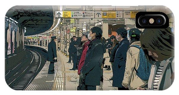 Marunouchi Line, Tokyo Metro Japan Poster 2 IPhone Case