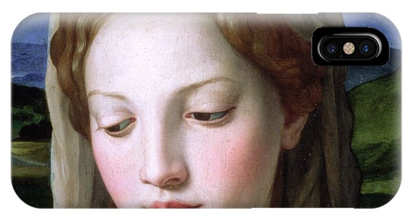Religious iPhone Case - Mary by Agnolo Bronzino