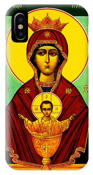 Mary And Child IPhone Case