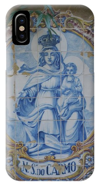 Mary And Jesus IPhone Case