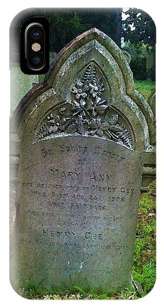 Mary Ann IPhone Case