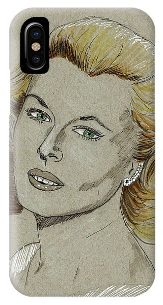 Mary Costa IPhone Case