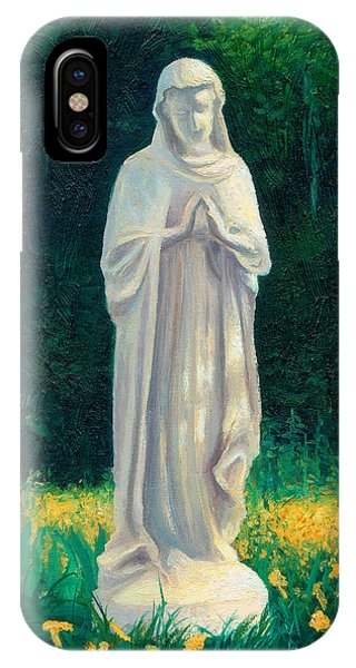 IPhone Case featuring the painting Mary by Joe Winkler