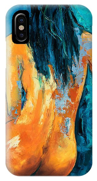 Women iPhone Case - Mary Lou by Elise Palmigiani