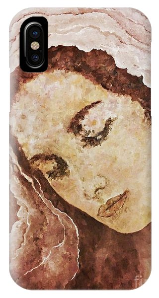 Mary Mother Of Jesus IPhone Case