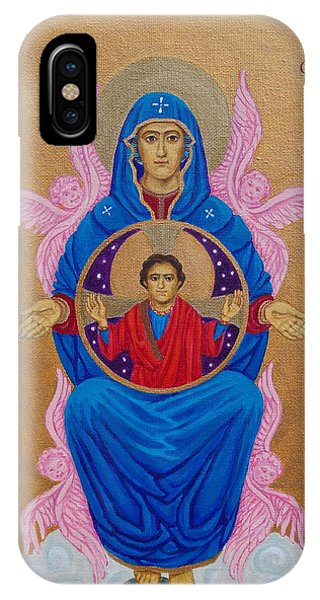 Mary Mother Of Mercy Icon - Jubilee Year Of Mercy IPhone Case