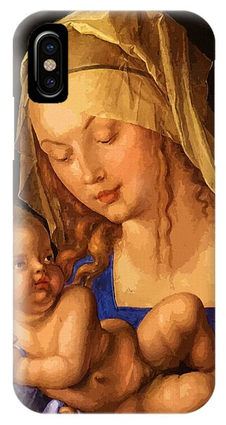 Mary Saint IPhone Case