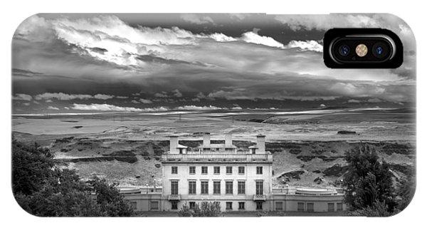 Maryhill In Monochrome IPhone Case